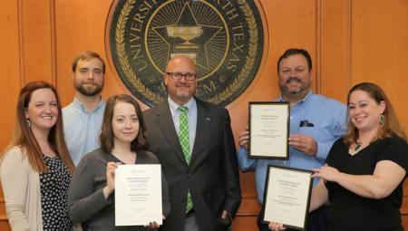 UNT Advancement earns regional and national awards