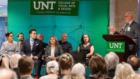 UNT College of Visual Arts and Design facilities grand opening