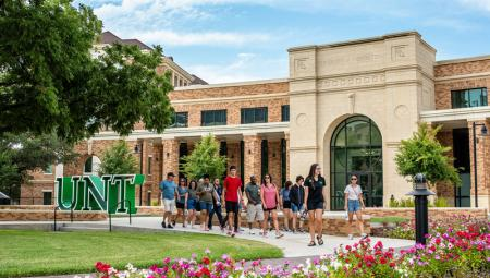 UNT Welcome Center